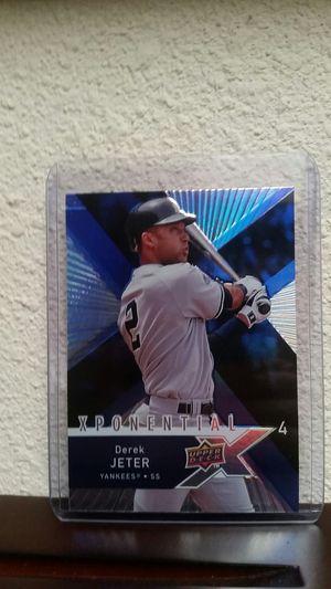 2008 Derek Jeter baseball insert card for Sale in Vancouver, WA