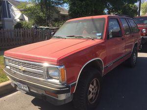 91 Chevy blazer for Sale in San Antonio, TX