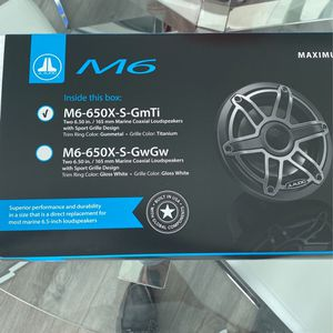 Hi Audio Marine Speakers M6 for Sale in Miami, FL