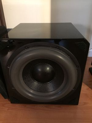 Sunfire HRS-12inch Home Theater Subwoofer for Sale in Roselle, IL