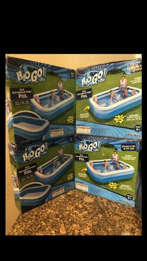 """BRAND NEW INFLATABLE SWIM CENTER FAMILY LOUNGE POOL, 103""""X69""""X20"""" FIRM $35 EACH for Sale in Riverside, CA"""