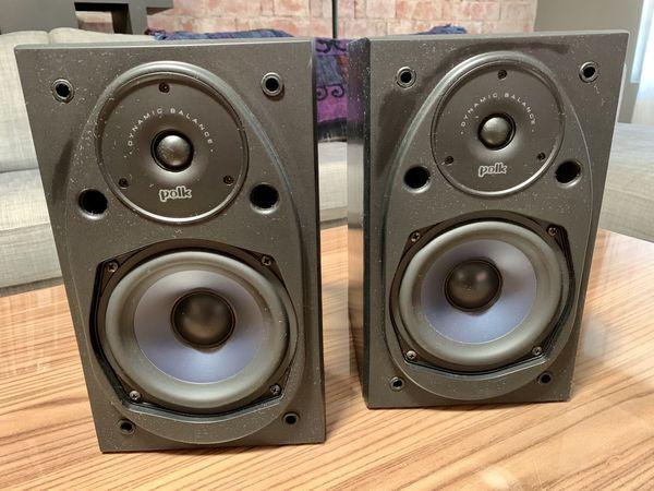 Polk Audio RTI15I Bookshelf Speakers *Mint*