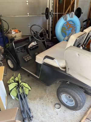 1987 gas ez go golf cart for Sale in Ingleside, IL