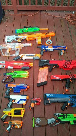 15 nerf guns for Sale in Dumfries, VA