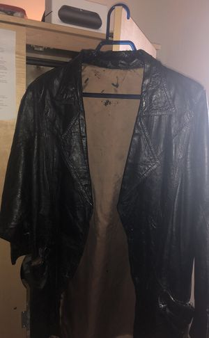 Vintage Pure Italian leather jacket for women for Sale in Tampa, FL