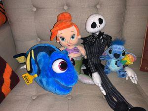 Disney plush dolls for Sale in Carson, CA