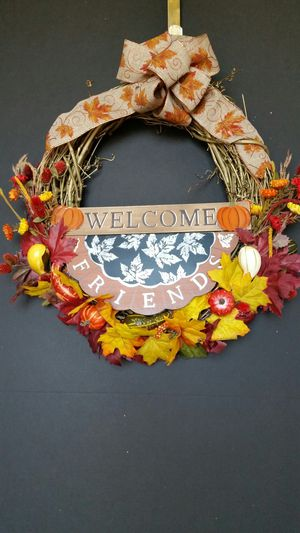 Thanksgiving Wreath, Fall Wreath, Farmhouse Wreath for Sale in Germantown, MD
