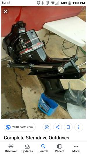 Alpha 1 outdrive 1.84 gear ratio v6 4.3 mercruiser for Sale in Middlebury, CT