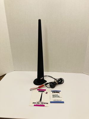 TERK Amplified AM/FM Stereo Indoor Tower Antenna for Sale in Spring Hill, FL