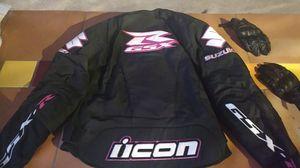 Icon Suzuki GSX-R motorcycle jacket for Sale in Los Angeles, CA