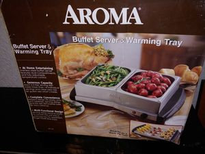 2-n-1 Buffet server/warming tray for Sale in Tulsa, OK