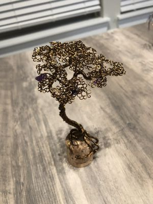 Handcrafted brass decorative tree for Sale in Durham, NC