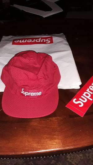 Supreme Red Mesh Box Logo Hat for Sale in Pompano Beach, FL