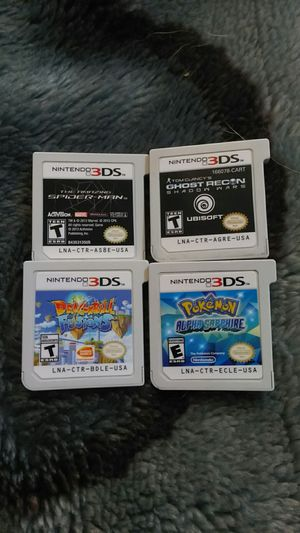 Nintendo 3ds games for Sale in Chula Vista, CA