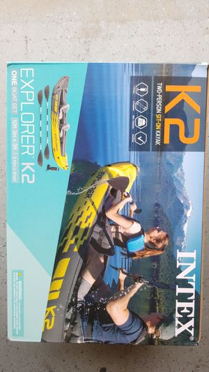 Intex K2 two person sit-in kayak for Sale in Brea, CA