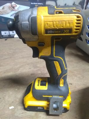 """Dewalt Dcf885 Impact Drill Driver 20v Max 1/4"""" Impactdrill And 20v for Sale in Greenville, SC"""