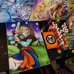 SSJ Supreme Kai Gohan! By Quil - Dragonball Z for Sale in Tracy, CA