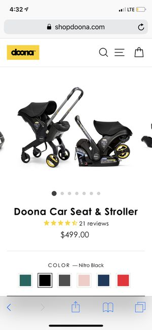 Doona stroller for Sale in Charlotte, NC