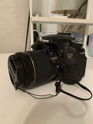 Canon 70 D camera for Sale in Miami, FL
