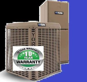 York 14 seer 3 ton split system air conditioning R410a for Sale in Orlando, FL