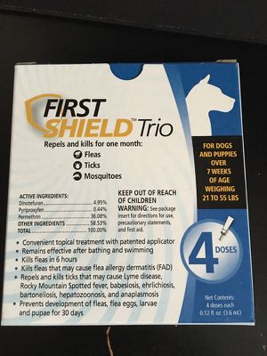 FIRST SHIELD TRIO for Sale in Silver Spring, MD