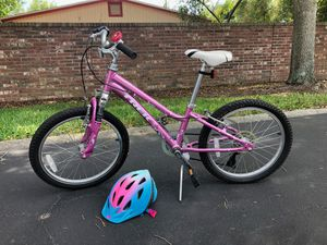 Trek girls bike and helmet for Sale in Longwood, FL