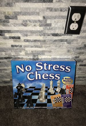 No Streess Chess Board Game NEW!!!! for Sale in Washington, DC