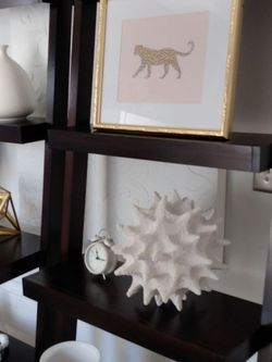 Crate And Barrel Leaning Bookshelves Set Of 2 for Sale in Los Angeles,  CA