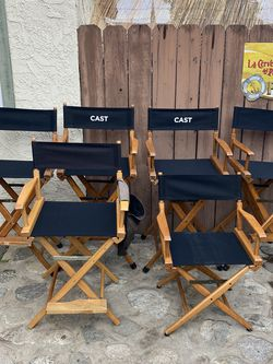Director's Chairs Used On Movies And Tv Shows for Sale in Los Angeles,  CA