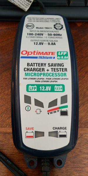 Optimate Lithium Ion Battery Charger / Tender and Tester for Sale in Lakewood, CO