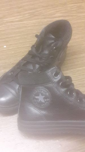 Leather converse for Sale in Philadelphia, PA
