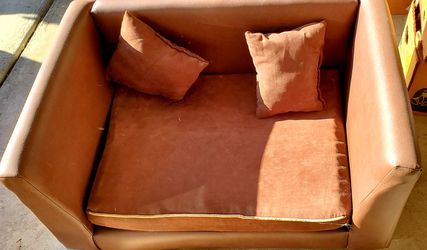 Large dog leatherette couch for Sale in San Diego,  CA