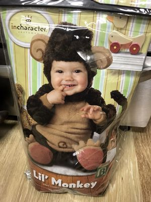 Baby monkey costume for Sale in Baton Rouge, LA