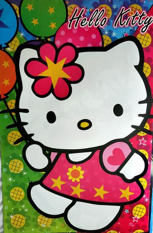 Hello kitty posters for Sale in Arlington, TX