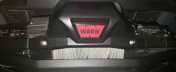 Warn Winch Zeon 8 Steel Rope