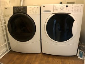 Front Load Kenmore Washer and Dryer for Sale in Silver Spring, MD
