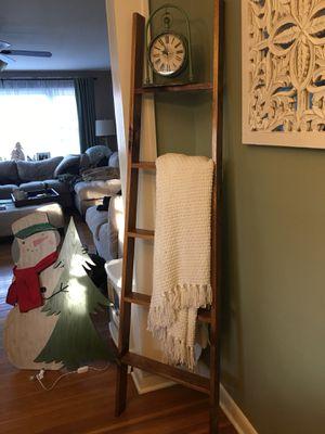 6 ft Blanket Ladder Shelf for Sale in Monroe, CT
