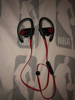 Power beats wireless headphones for Sale in San Antonio, TX