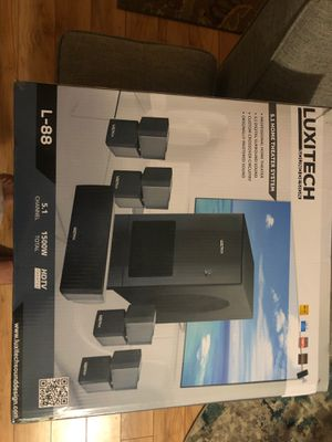 Luxitech home theater system. Brand new in the box. for Sale in Watauga, TX