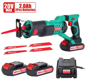 Reciprocating saw 20v 2ah batteries & 4 blades NEW! for Sale in New Haven, CT