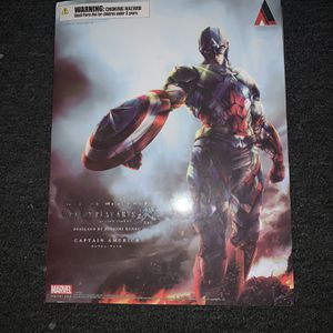 SQUARE ENIX Marvel Universe Variant Play Arts Kai Captain America Action Figure for Sale in Fresno, CA