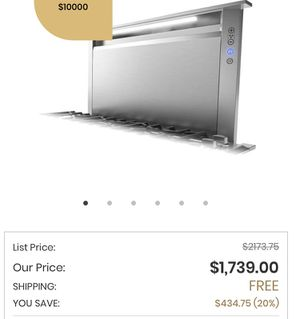 Viking Downdraft /stainless steel with blower motor worth over 2000.00 for Sale in San Antonio, TX