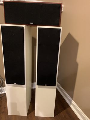 B&W speakers. High end home audio!!! for Sale in Essex, MD
