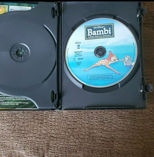 Platinum edition Bambi 2 disc special edition
