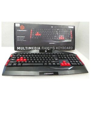 Brand new CyberPower pc keyboard never used. for Sale in San Jose, CA