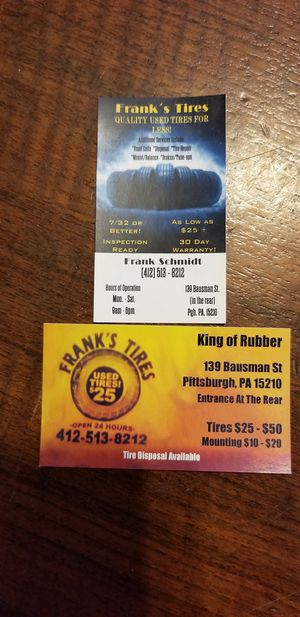 The king of rubber for Sale in Pittsburgh, PA