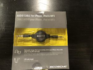 Audio Cable for iPhone, iPod and MP3 for Sale in Lakewood, CO