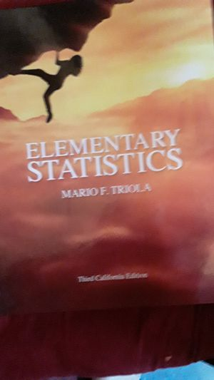 Elementary statistics for Sale in Los Angeles, CA