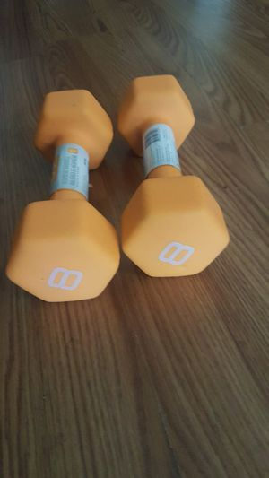 8lb dumbbells for Sale in Los Angeles, CA