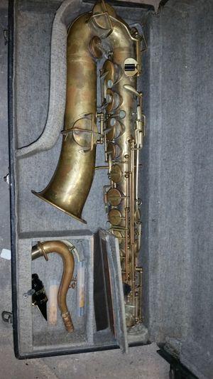 1920 buescher true tone tenor saxophone - vintage for Sale in Chelmsford, MA